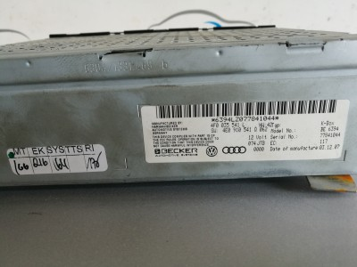CD Player Audi A6 4F C6 Quattro - 4F0035541L / 6394LZ077841044 (2006 - 2008)