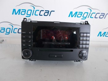 CD Player Mercedes A 150 W169Benzina  - 255050140313 (2004 - 2012)
