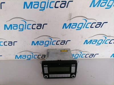 CD Player Volkswagen Passat Motorina  - 1K0035186 AD (2005 - 2009)