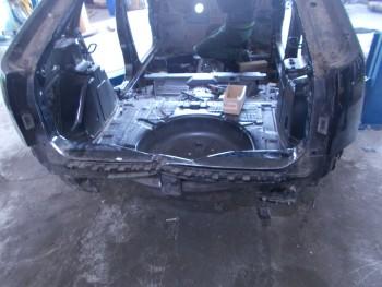 Fusta metal spate Ford Focus  (2004 - 2009)
