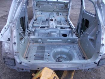 Fusta metal spate Renault Clio  (2009 - 2012)