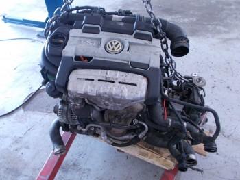 Motor fara subansamble Volkswagen Touran (2007 - 2010)