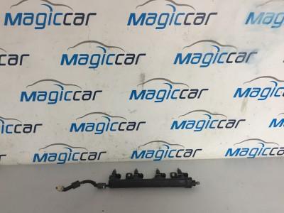 Rampa injectoare Peugeot 308 Benzina  - 757564580-02 (2008 - 2012)