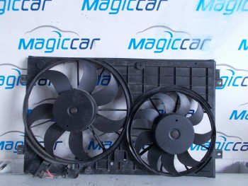 Ventilator radiator Volkswagen Touran - 1k972669 / 1k0121207 t (2007 - 2010)
